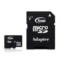 TeamGroup 8GB microSDHC Class 10 + adapterrel